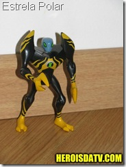 estrela polar Bonecos Ben 10 Força Alienígena - brinquedos