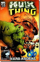P00003 - Hulk vs The Thing - Hard Knocks #3