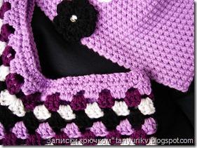 детское пончо крючком, пончо крючком для детей, poncho crochet