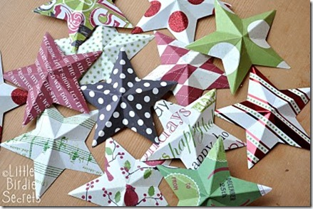 3D_paper_star_wreath_tutorial