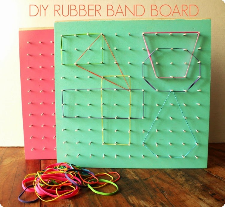 how to diy a rubber band board
