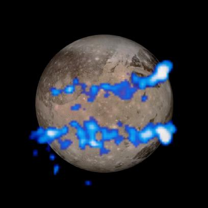 cinturão aurorais de Ganimedes