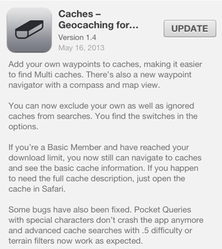 Caches version 1.4