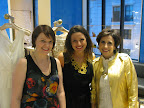 BHLDN's Katie Wadhams and Jessica Simmons with me