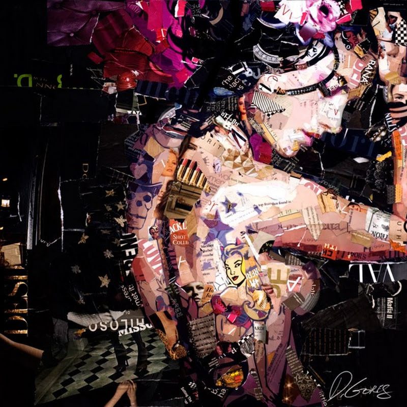 Beautiful Paper Collages by Derek Gores