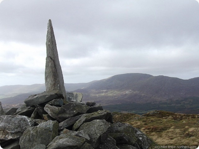 y garn summit cairn