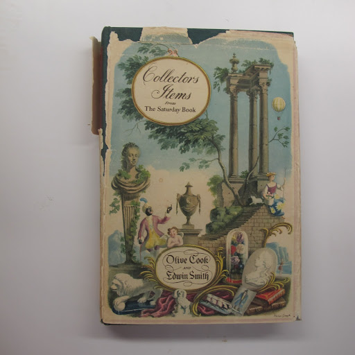 This vintage copy of Collectors Items from The Saturday Book features various eccentric and obscure British collections.