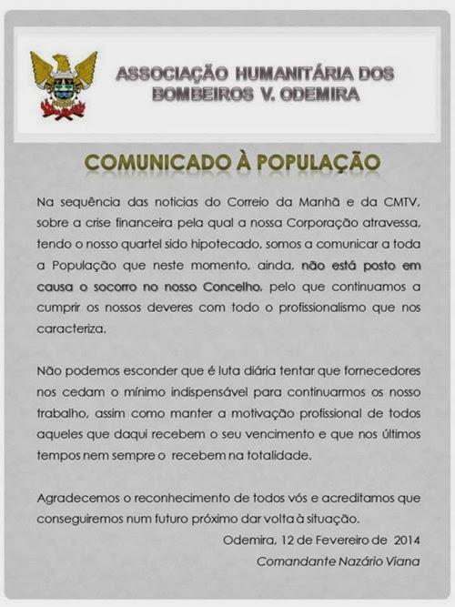 BVO Comunicado