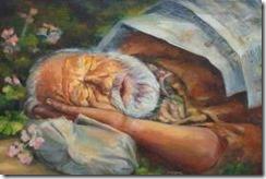 dios dormido