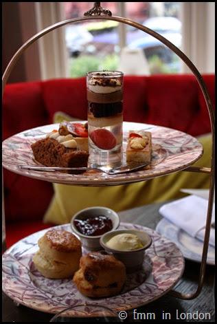 Classic afternoon tea Pantry 108 Marylebone Hotel