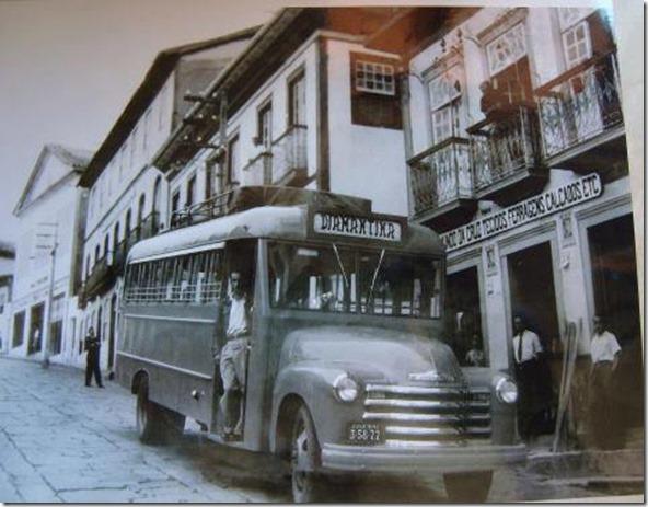 ônibus centro diamantina