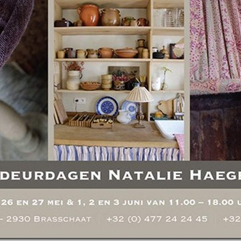 Open doors at Natalie Haegeman Interiors & Belgian houses for sale
