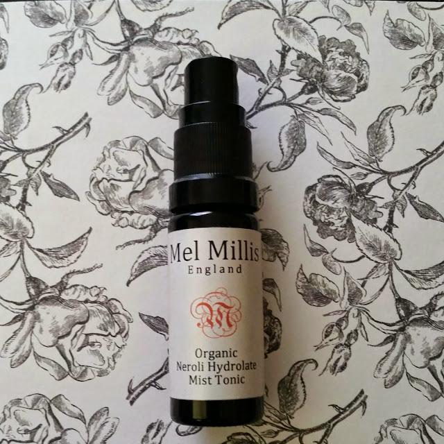 Mel Millis Organic Neroli Hydrolate Mist Tonic & Organic Phytonutri Neroli & Baobab Re-Energising Face Oil.