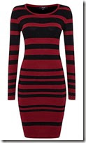Therapy Striped Knit Dress