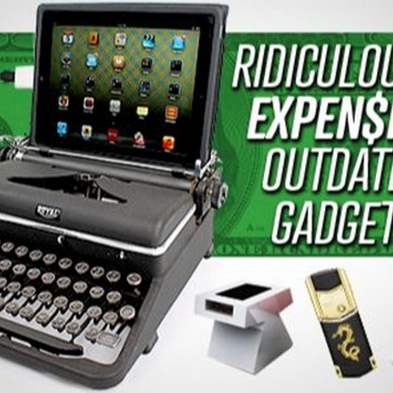 8 RIDICULOUSLY EXPENSIVE OUTDATED GADGETS