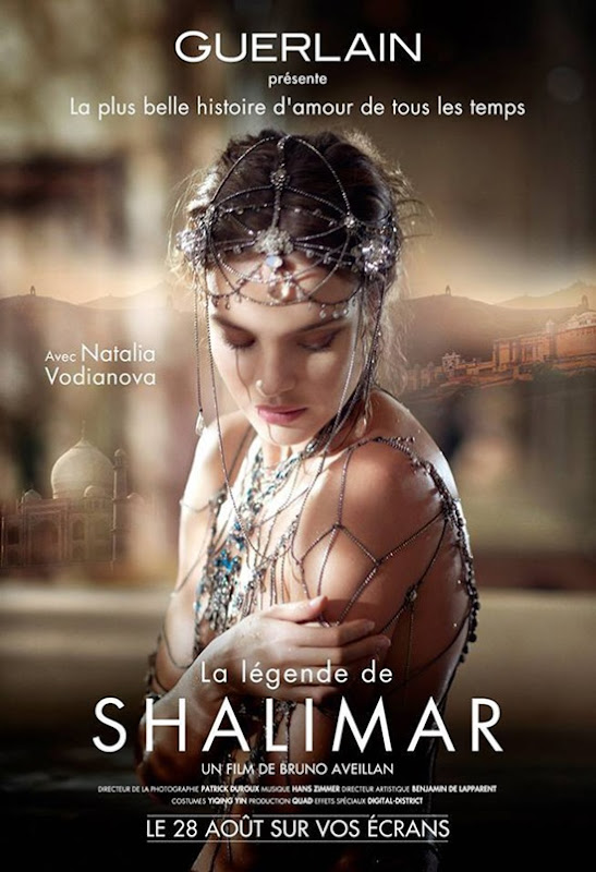 Natalia Vodianova stars in Legend of Shalimar film by Bruno Aveillan