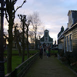 walking through the zaanse schans in zaandam in Zaandam, Noord Holland, Netherlands