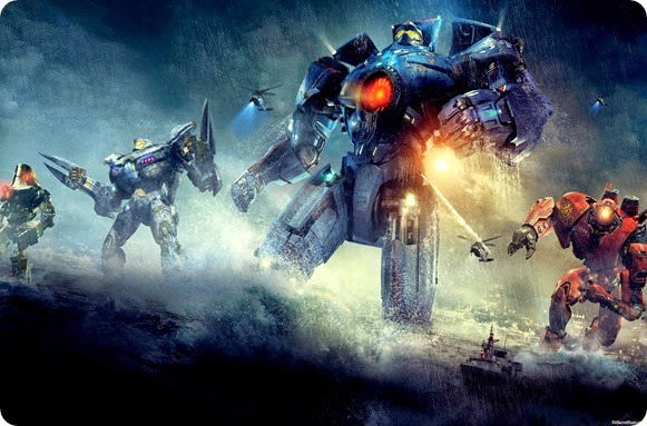 Gipsy Danger the American-made deadly beauty along with badazz Striker Eureka & other Jaegars set off to battle the Kaijus