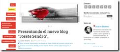 Imagen de la plantilla del blog Josete Sendra