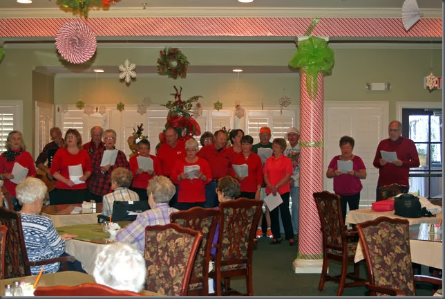LA-Betty's-Christmas caroling at Nursing homes 4