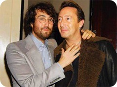 Julian Lennon e Sean Lennon