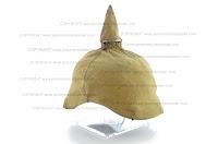 World War I German helmet cover