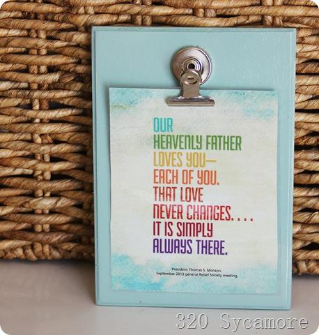 little inspiration board