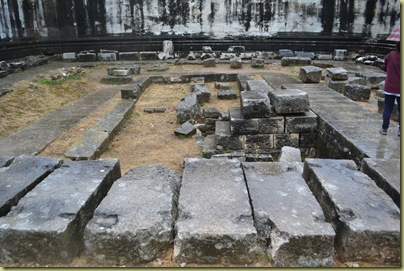 Didyma remains of inner sanctum temple