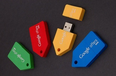 Google Offers USB memory stick