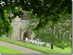 Fountains Abbey monks