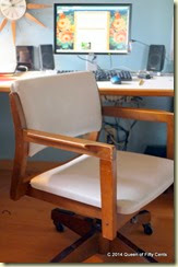 Vintage desk chair 1