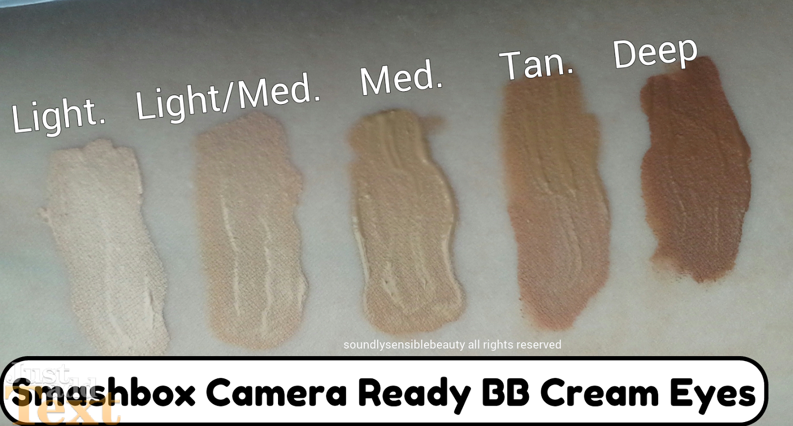 Smashbox Bb Cream Eyes Concealer Review Amp Swatches Of Shades