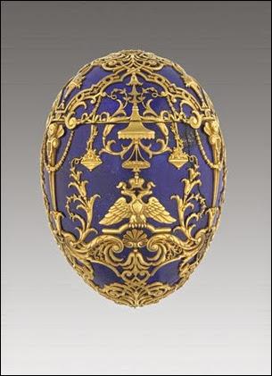 Imperial Tsesarevich Easter Egg, 1912