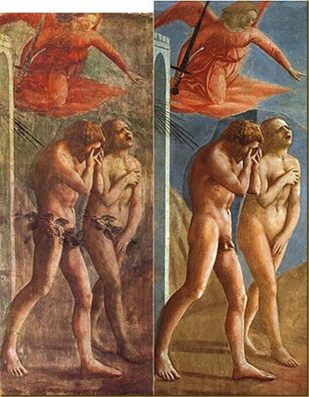 330px-Masaccio-TheExpulsionOfAdamAndEveFromEden-Restoration[1]