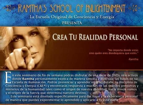 Crea Tu Realidad Personal, RAMTHA