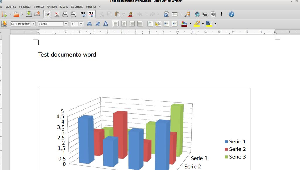 LibreOffice 4.2.3 Writer