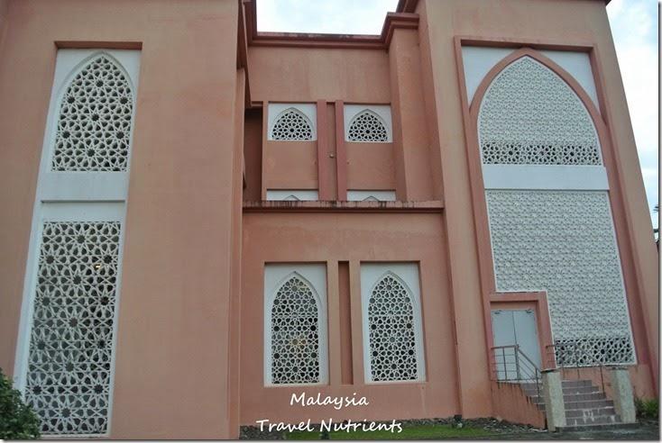 馬來西亞沙巴大學 粉紅清真寺 (19)
