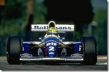 Senna con la Williams-Renault