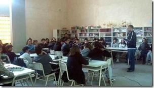 Ciclo de charlas en escuelas y centros comunitarios