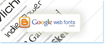 google-fonts-for-blogger