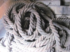Plymouth Mayflower 8.13 coils of rope