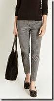Oasis Monochrome Print Trouser