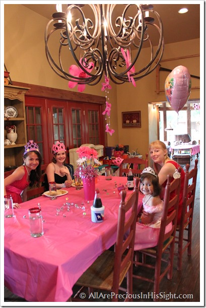 Chrissie's princess party and surgery 261