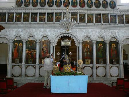 Biserica Damasc: altar biserica ortodoxa Siria