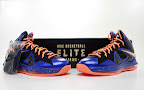 nike lebron 10 ps elite blue black 8 03 Release Reminder: Nike LeBron X P.S. Elite Superhero