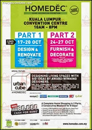 Homedec KL Convention Centre Malaysia 2013 Deals Offer Shopping EverydayOnSales