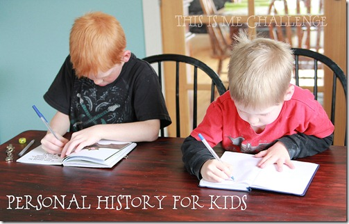 Personal History for Kids