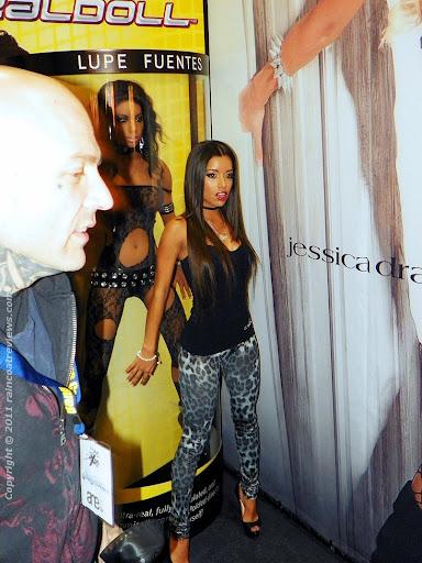 LPH superstar Lupe Fuentes · Brooklyn Decker dress
