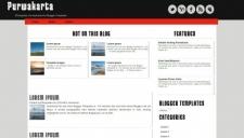 Purwakarta blogger template 225x128
