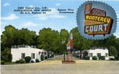 monterey court postcard